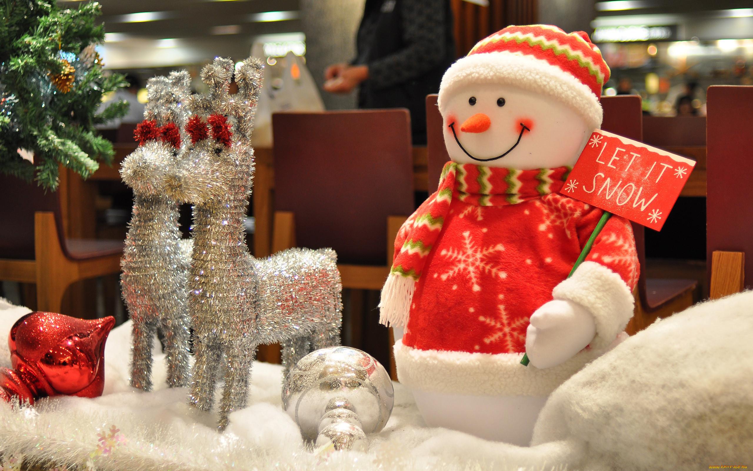 Снеговики к новому году 2016 своими руками